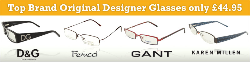 Click here to view our designer prescription glasses range